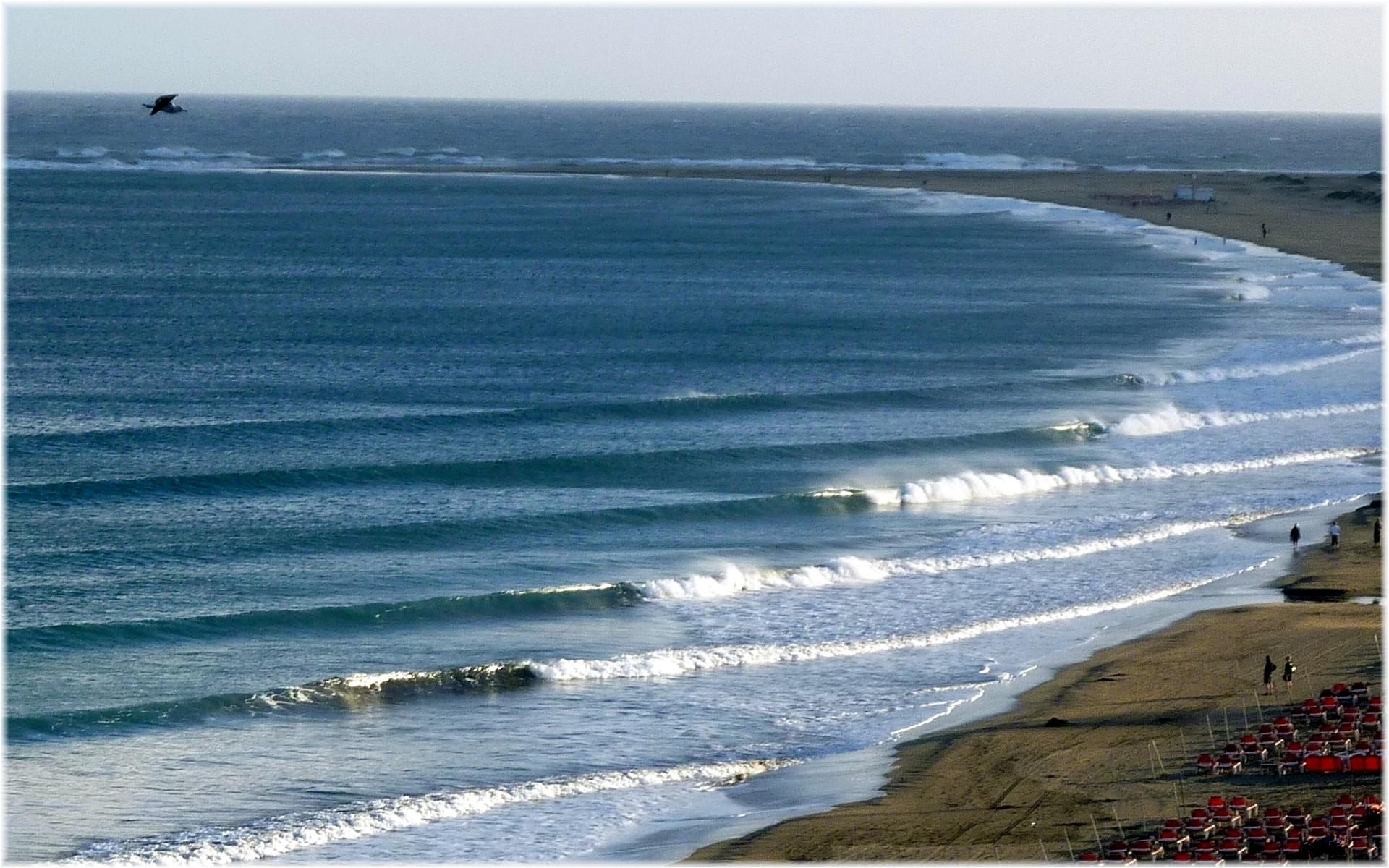26323 скачать обои Пейзаж, Море, Волны, Пляж - заставки и картинки бесплатно