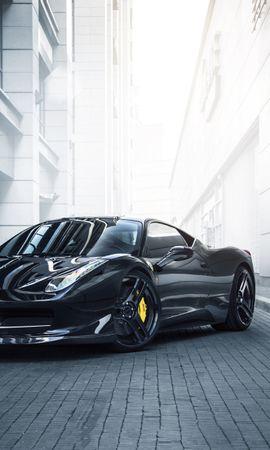 151193 télécharger le fond d'écran Voitures, Ferrari, 458, Italie, Italia, Novitec - économiseurs d'écran et images gratuitement