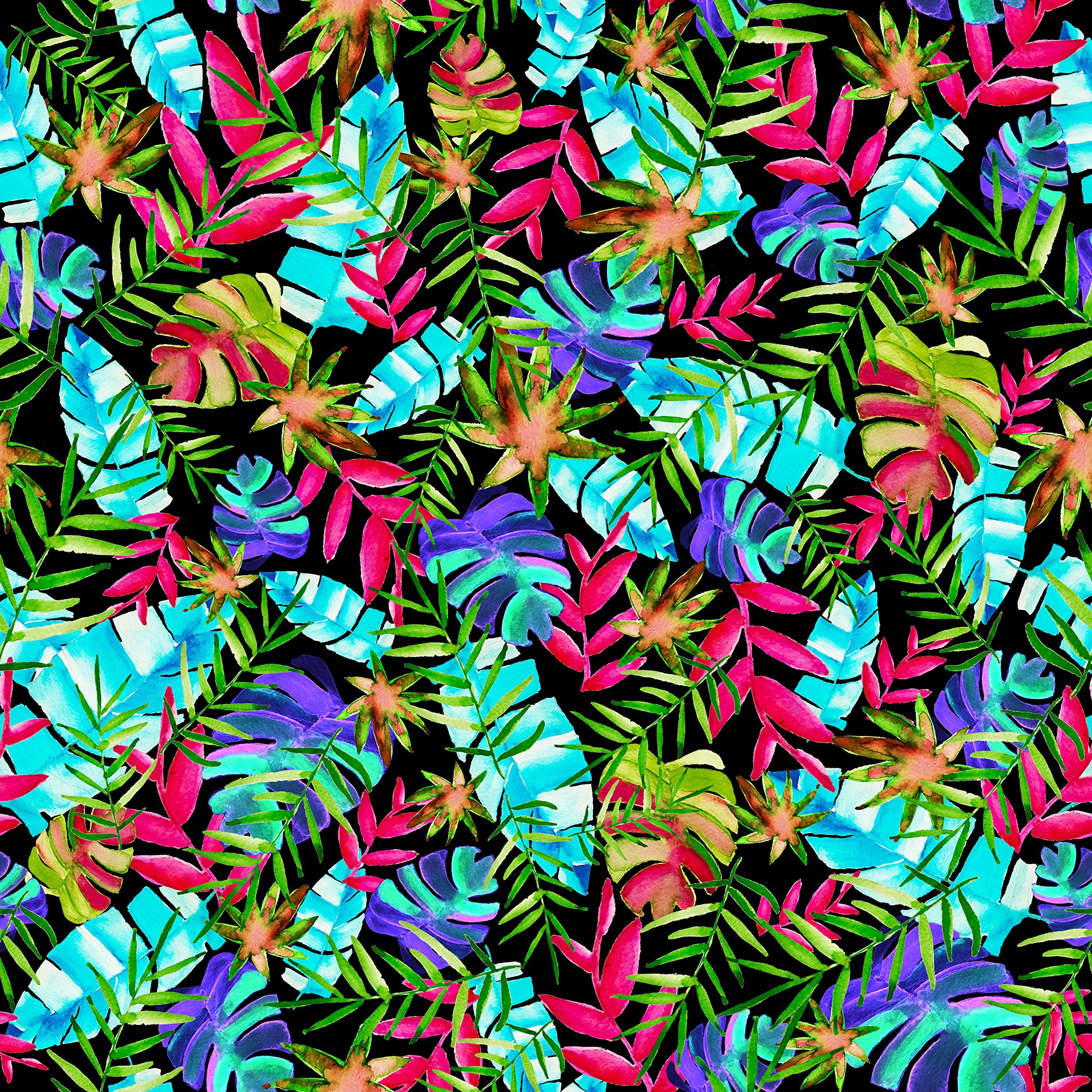 156776 скачать обои Текстуры, Паттерн, Листья, Разноцветный, Растения - заставки и картинки бесплатно