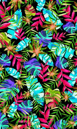 156776 download wallpaper Textures, Texture, Pattern, Leaves, Multicolored, Motley, Plants screensavers and pictures for free