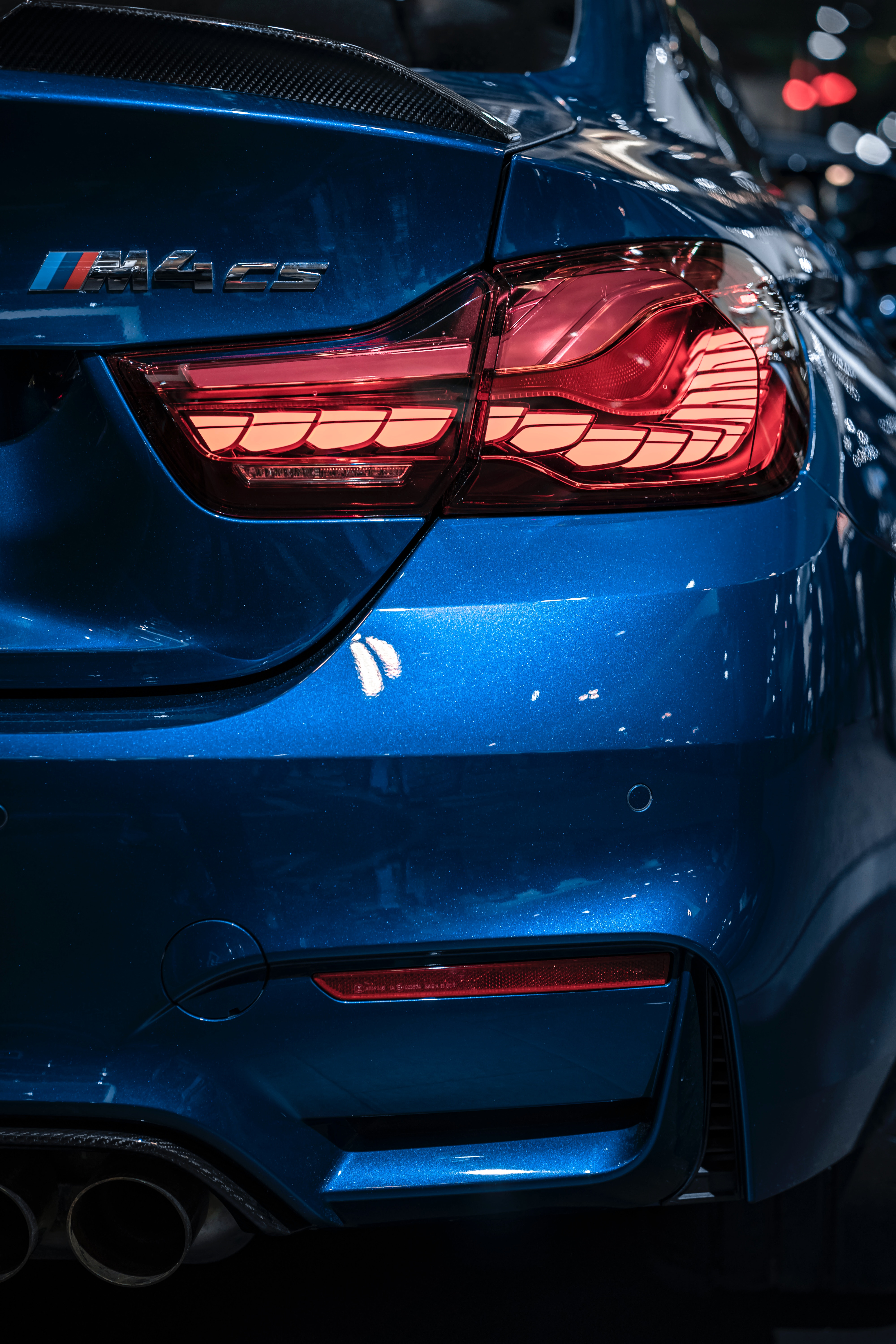 69540 download wallpaper Bmw, Cars, Back View, Rear View, Bmw M4 Cs screensavers and pictures for free