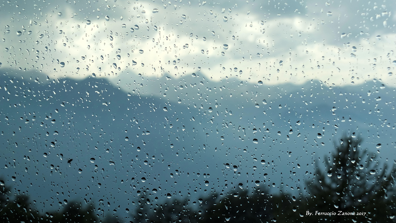 63501 скачать обои Стекло, Капли, Дождь, Макро, Размытость, Влага - заставки и картинки бесплатно