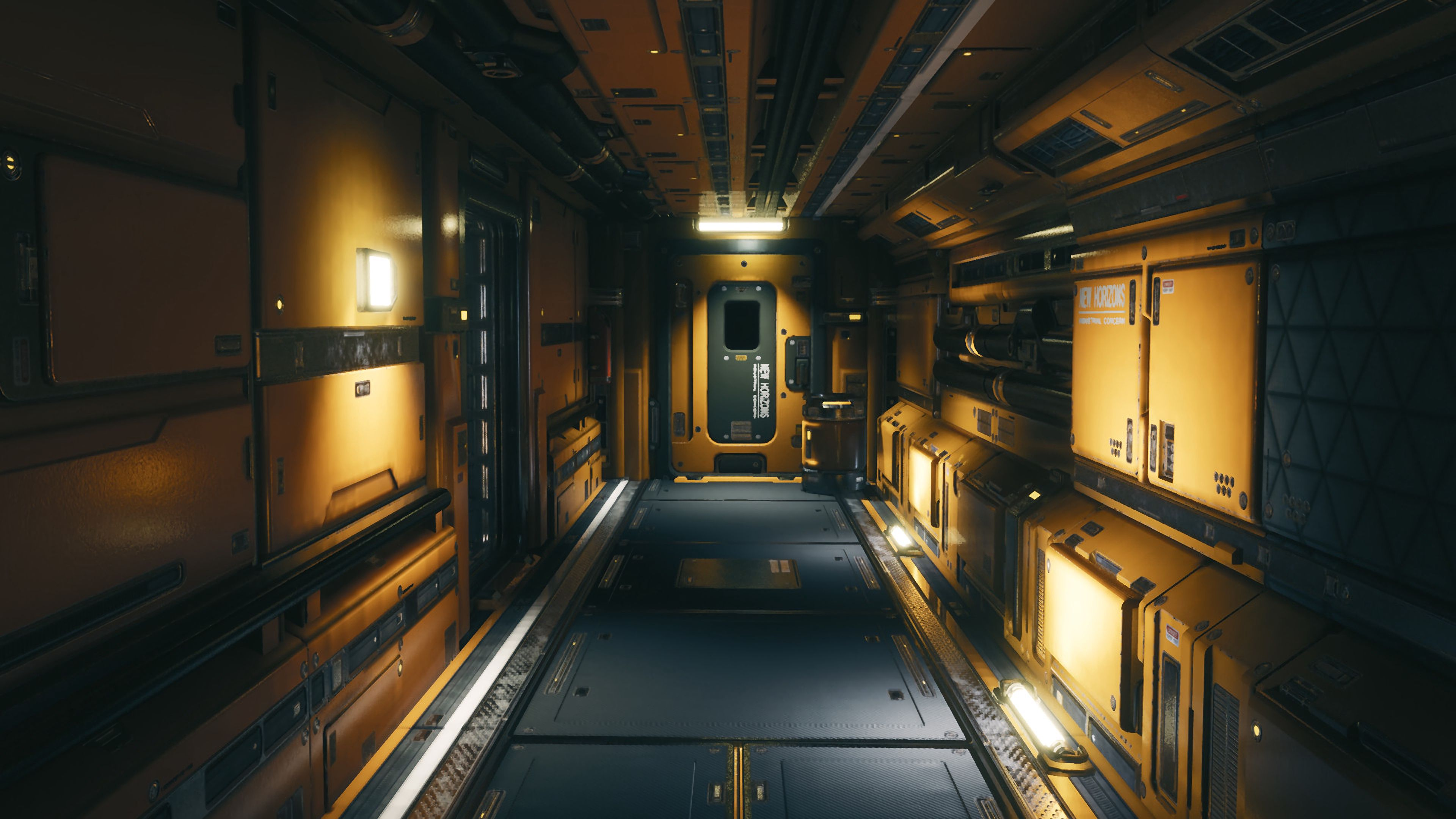 140565 Screensavers and Wallpapers Sci-Fi for phone. Download Sci-Fi, Art, Corridor, Premises, Room, Modular Environment pictures for free