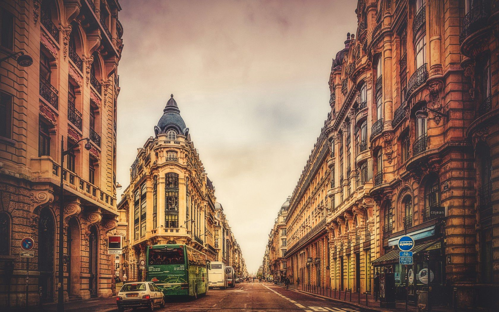 99378 Screensavers and Wallpapers Street for phone. Download Cities, Sky, Paris, Building, France, Street pictures for free