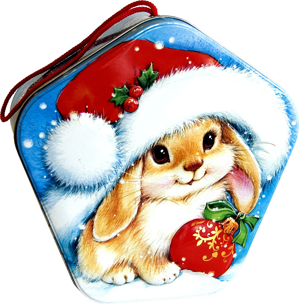10842 download wallpaper Holidays, Rabbits, New Year screensavers and pictures for free