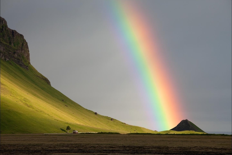47801 télécharger le fond d'écran Paysage, Nature, Montagnes, Arc En Ciel - économiseurs d'écran et images gratuitement