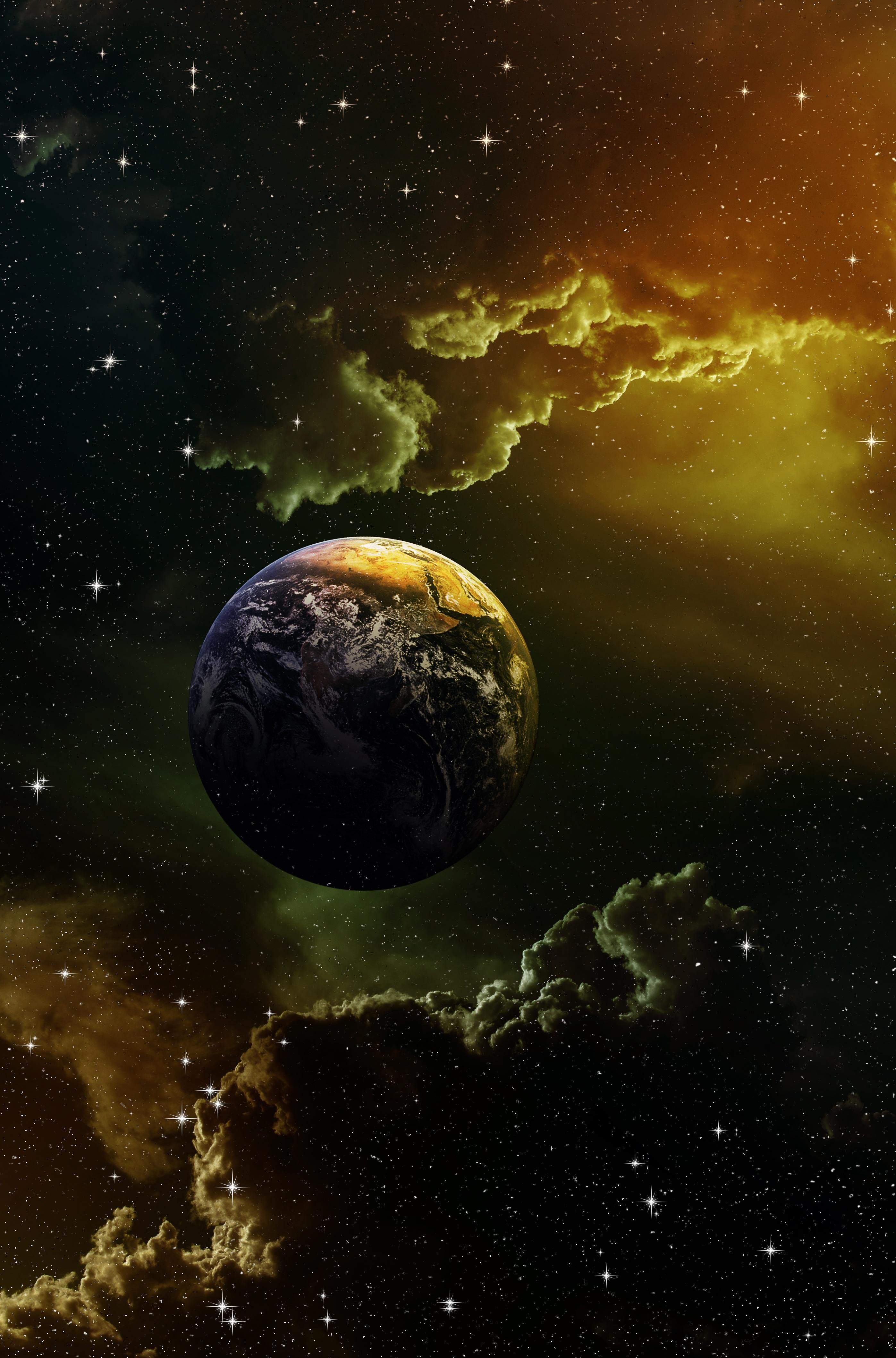 144696 скачать обои Звезды, Космос, Галактика, Планета - заставки и картинки бесплатно