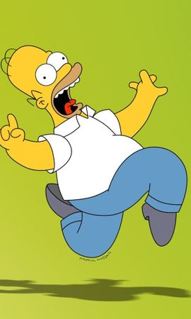 8621 download wallpaper Funny, Cartoon, Homer Simpson, Simpsons screensavers and pictures for free