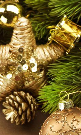 42810 descargar fondo de pantalla Vacaciones, Año Nuevo, Objetos: protectores de pantalla e imágenes gratis