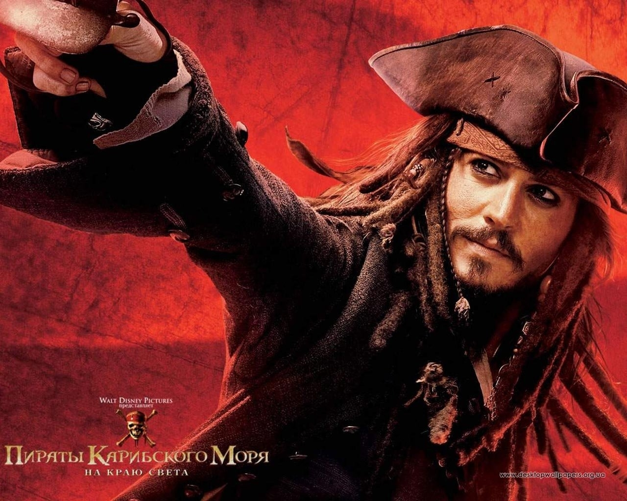 3863 download wallpaper Cinema, People, Actors, Men, Pirates Of The Caribbean, Johnny Depp screensavers and pictures for free