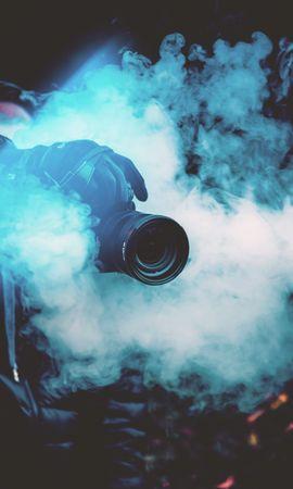 お使いの携帯電話の147547スクリーンセーバーと壁紙テクノロジー。 テクノロジー, カメラ, 写真家, 有色煙, 色付きの煙, 煙の写真を無料でダウンロード