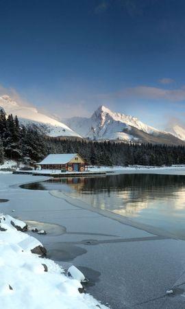 127290 скачать обои Природа, Озеро, Горы, Пейзаж - заставки и картинки бесплатно