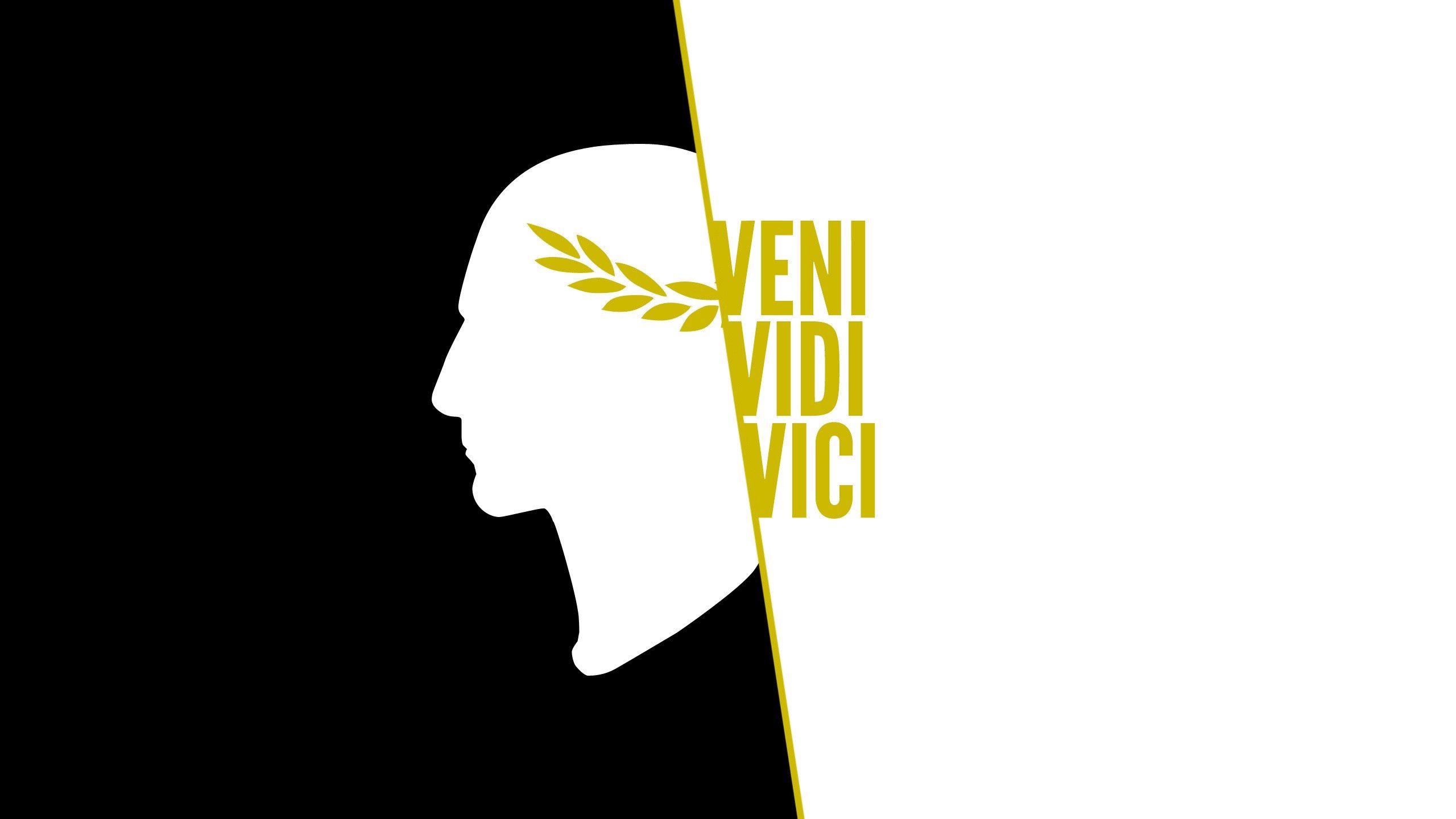 115866 скачать обои Слова, Veni Vidi Vici, Юлий Цезарь, Арт - заставки и картинки бесплатно