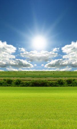 20410 скачать обои Пейзаж, Трава, Небо, Облака - заставки и картинки бесплатно