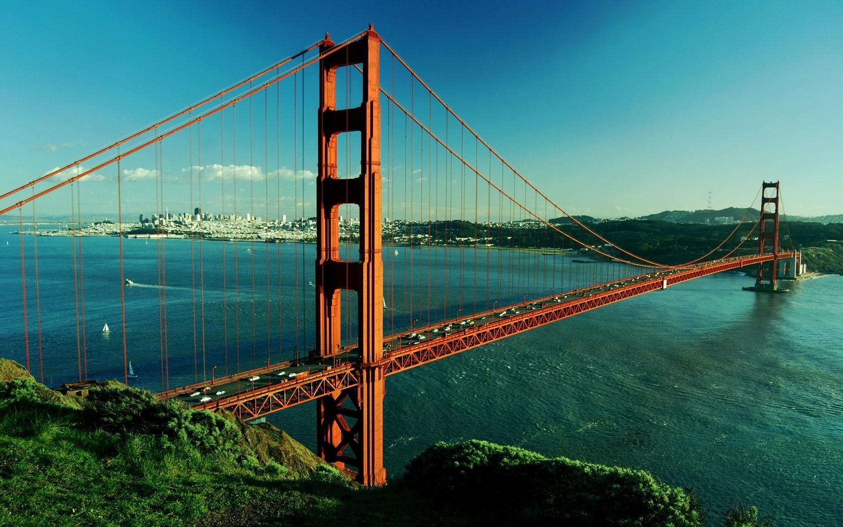 2778 скачать обои Пейзаж, Мосты, Река - заставки и картинки бесплатно