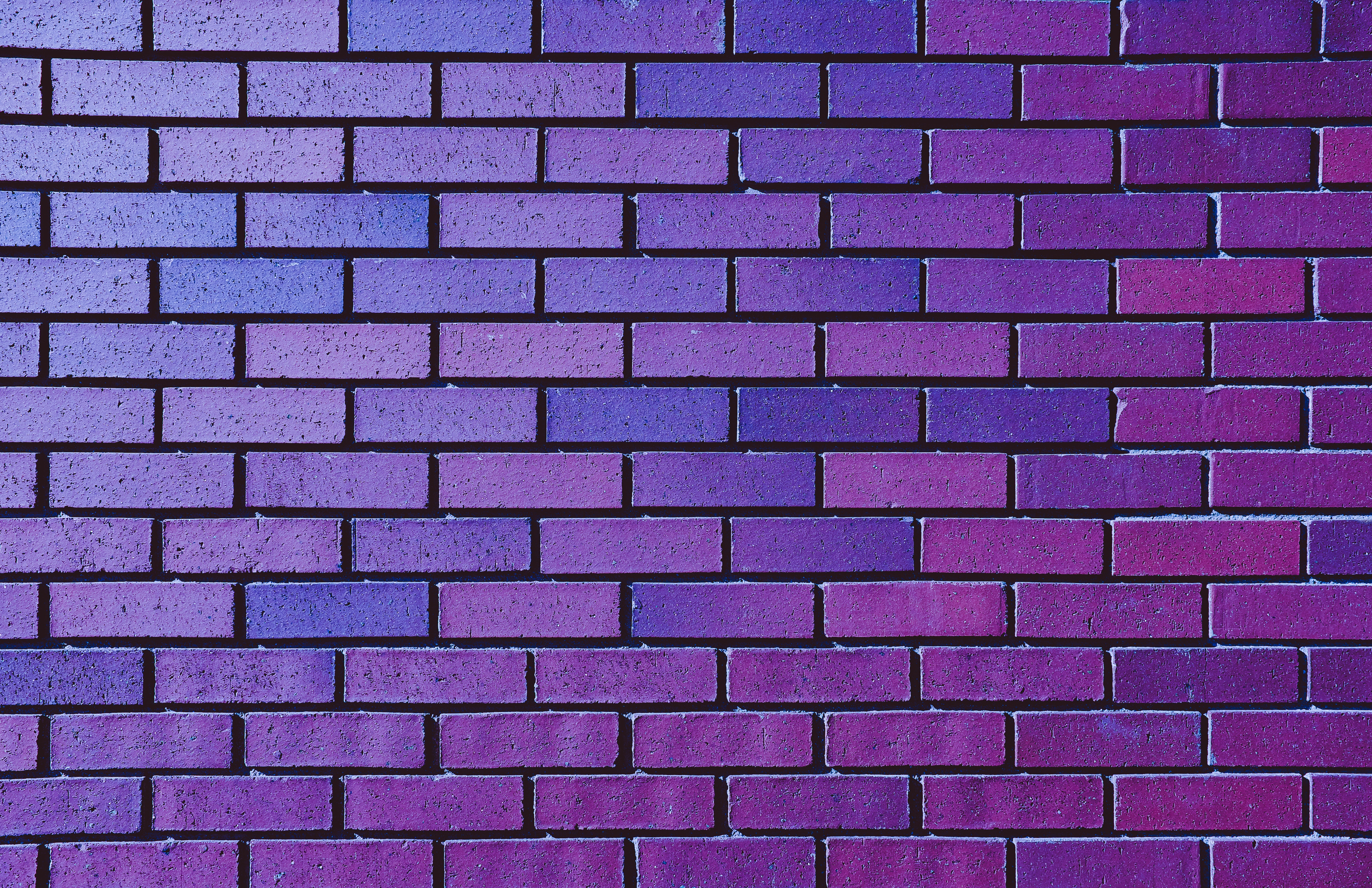 156995 Screensavers and Wallpapers Purple for phone. Download Textures, Texture, Violet, Wall, Purple, Brick pictures for free