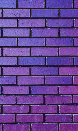 156995 Screensavers and Wallpapers Textures for phone. Download Textures, Texture, Wall, Brick, Purple, Violet pictures for free