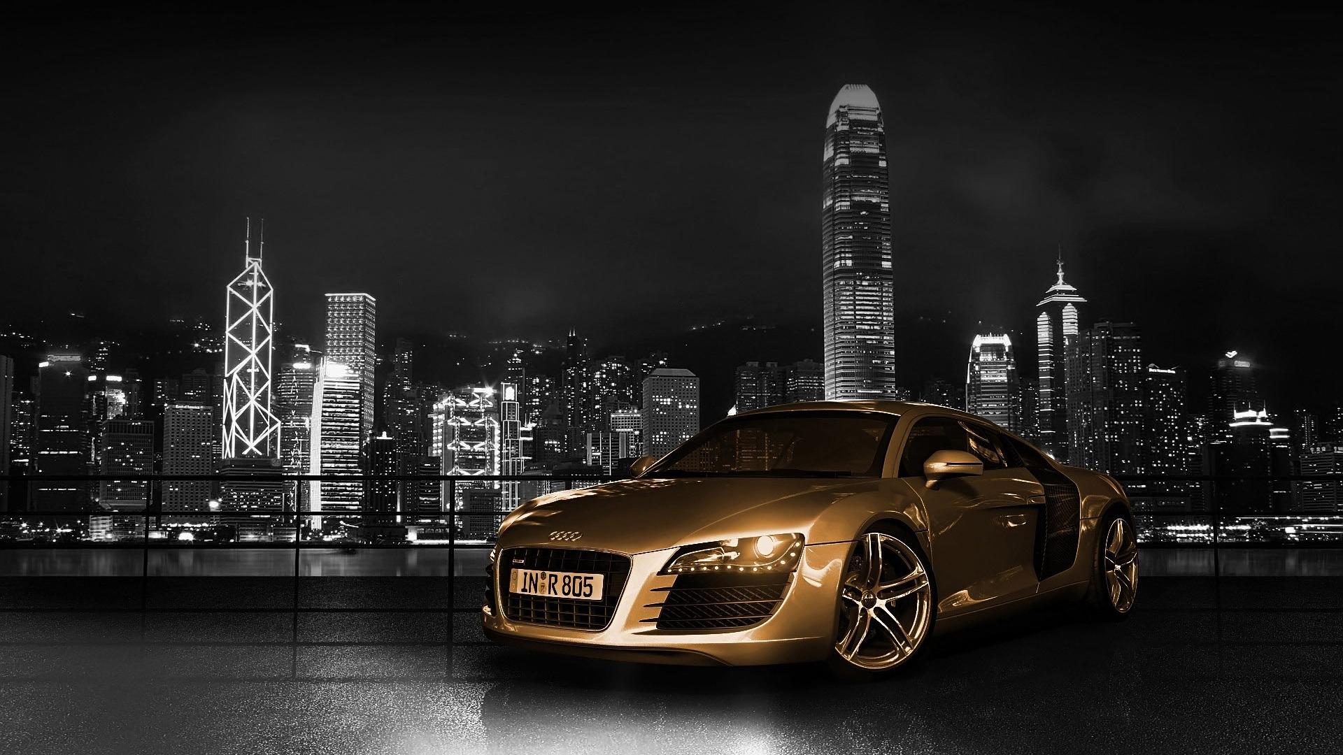 36838 télécharger le fond d'écran Transports, Voitures, Audi - économiseurs d'écran et images gratuitement