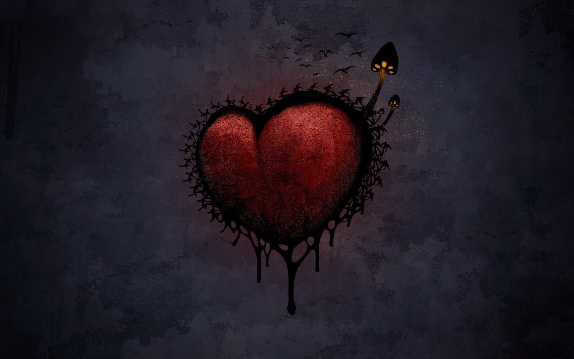 18268 download wallpaper Fantasy, Hearts, Pictures screensavers and pictures for free