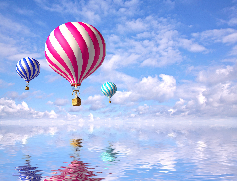 143465 économiseurs d'écran et fonds d'écran 3D sur votre téléphone. Téléchargez 3D, Mer, Nuages, Ballons, Vol, Des Ballons images gratuitement