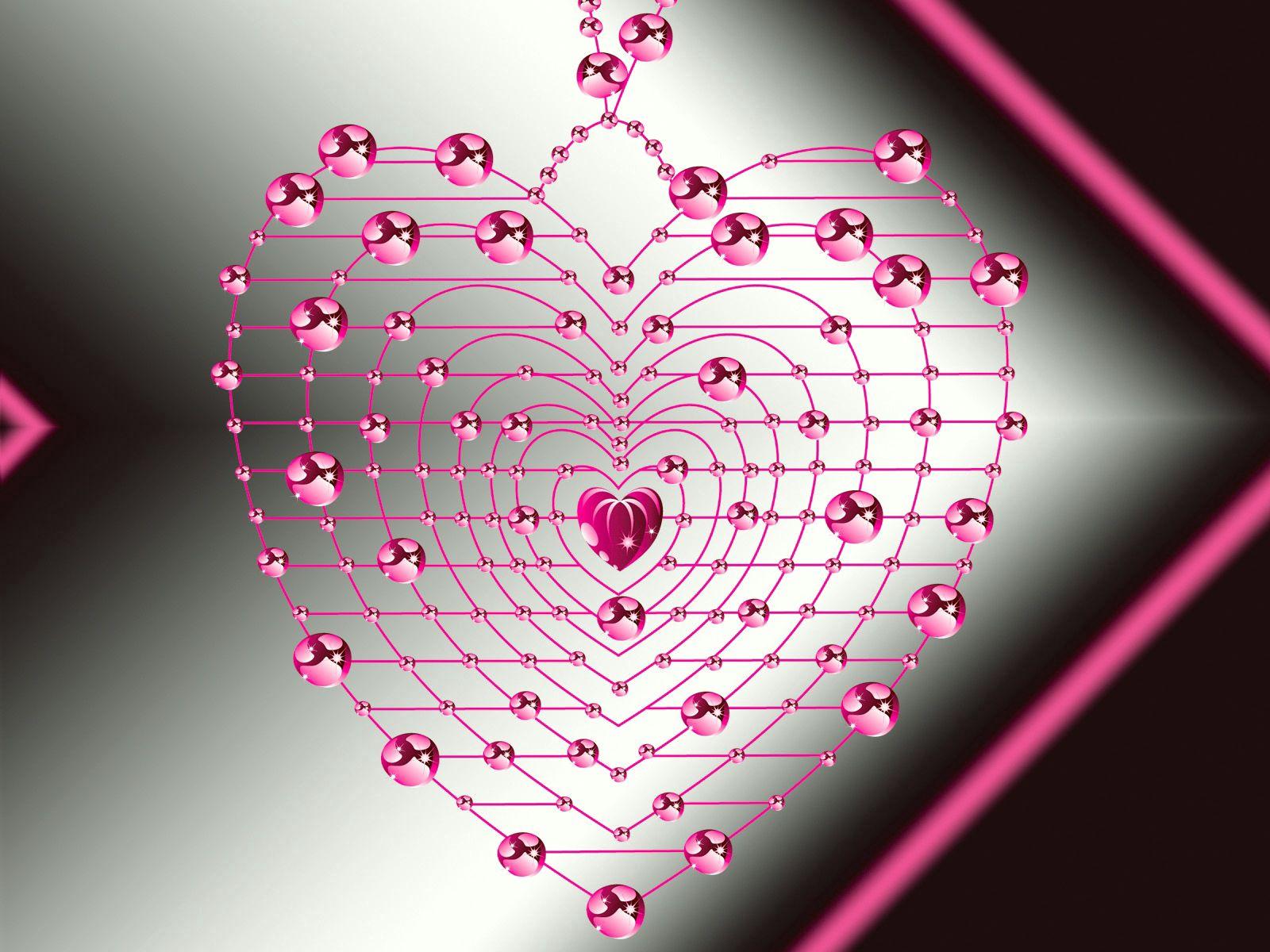 153784 скачать обои Розовый, Любовь, Блеск, Сердце - заставки и картинки бесплатно