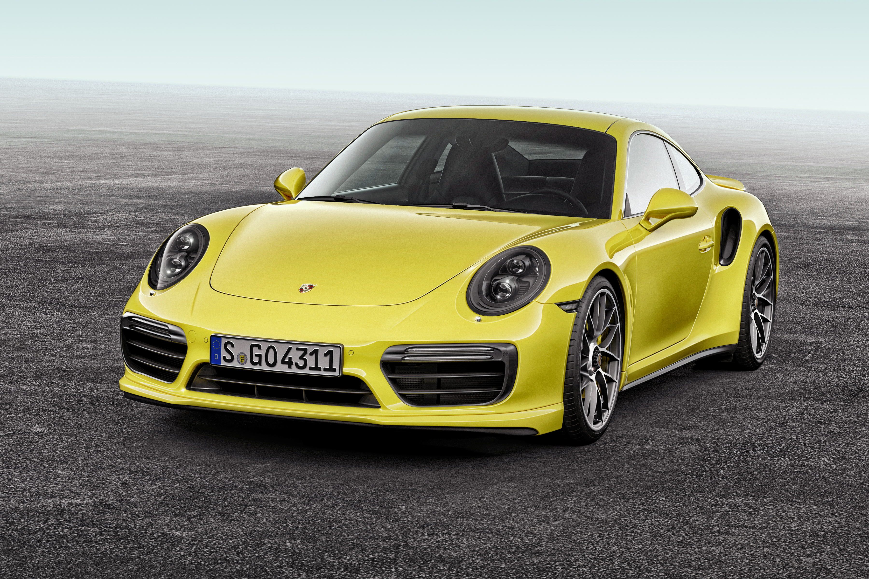 132624 download wallpaper Porsche, Cars, Front View, 911, Turbo S screensavers and pictures for free