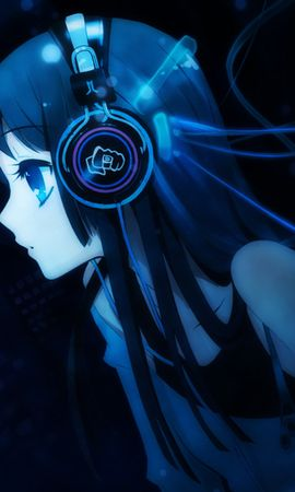 Free wallpaper 14350: Music, Anime, Girls download pictures for cellphone