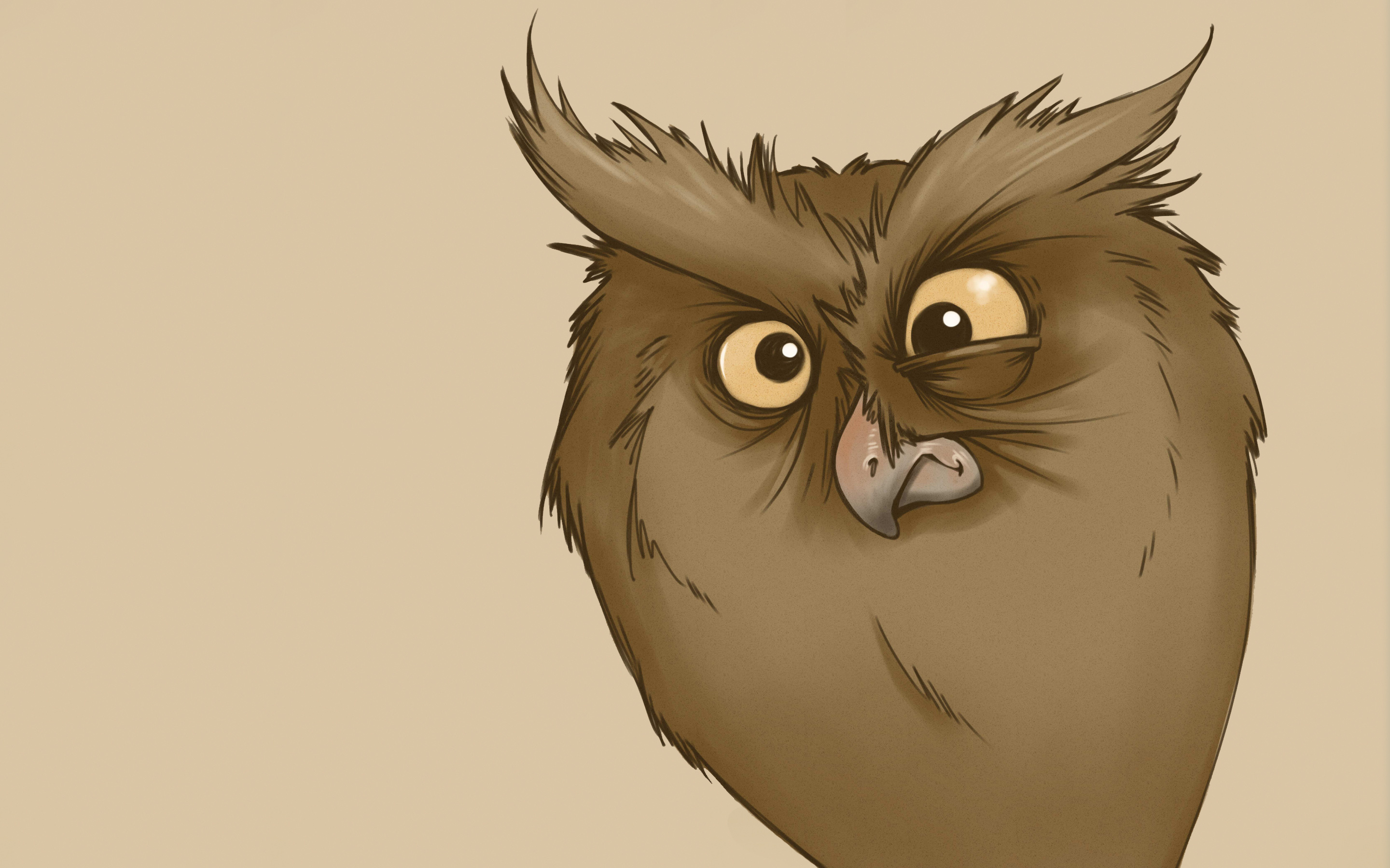 126586 Screensavers and Wallpapers Owl for phone. Download Vector, Owl, Sight, Opinion, Surprise, Astonishment, Picture, Drawing pictures for free