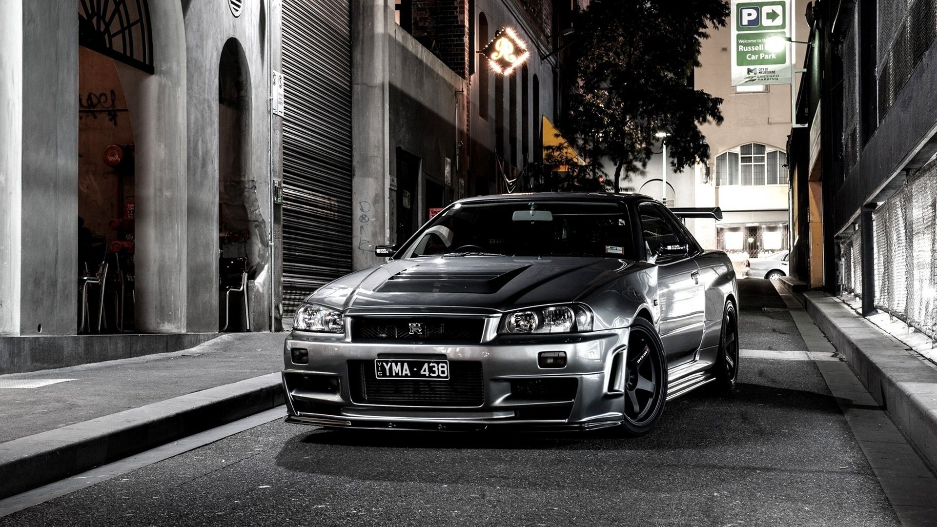 155470 download wallpaper Auto, Nissan, Cars, Grey, Street screensavers and pictures for free