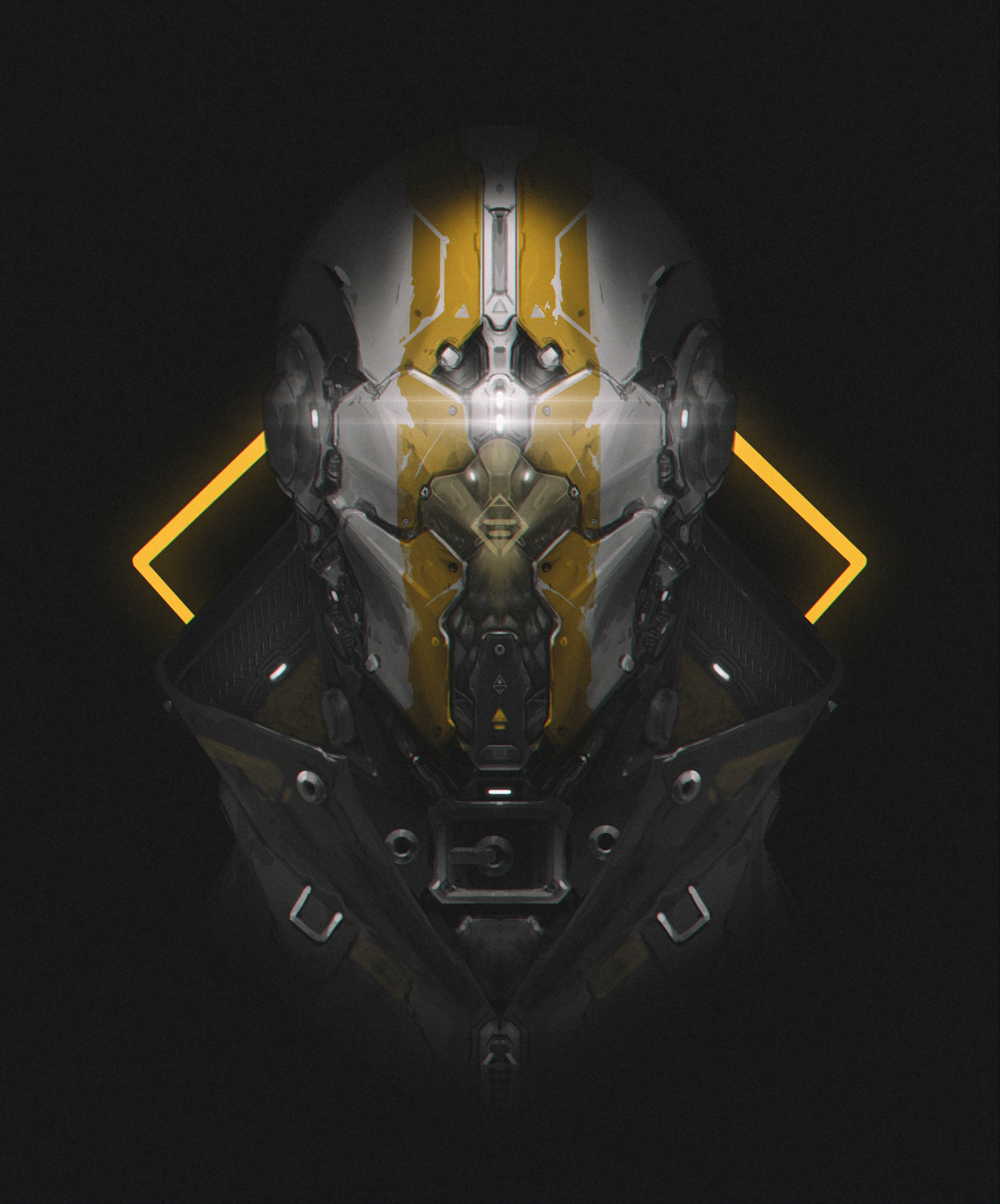 107880 Screensavers and Wallpapers Robot for phone. Download Art, Dark, Mask, Helmet, Robot pictures for free