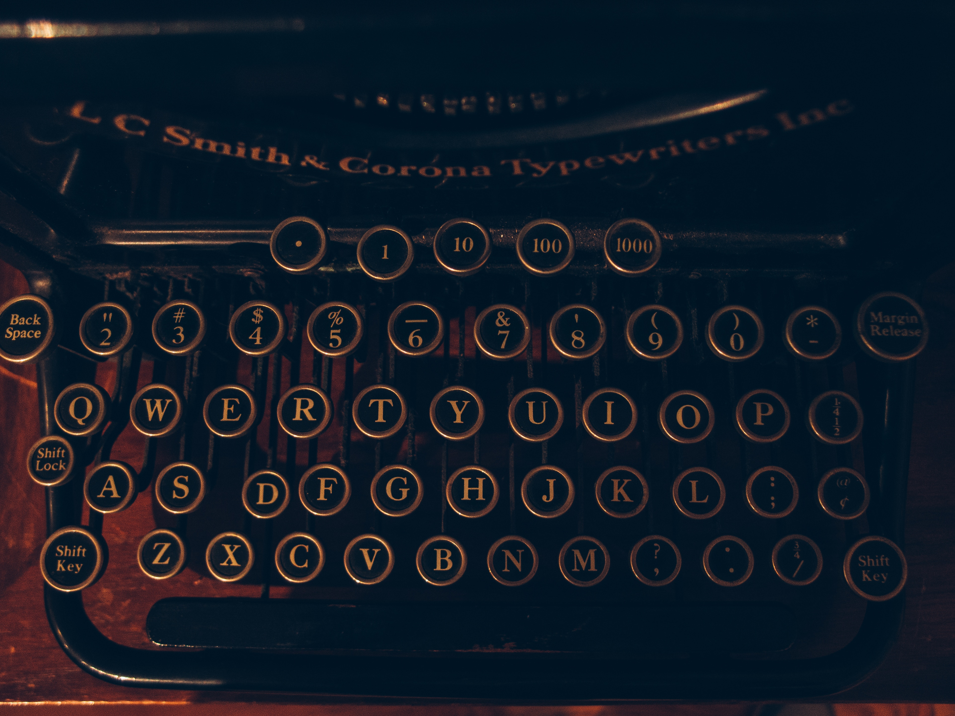 81002 download wallpaper Miscellanea, Miscellaneous, Typewriter, Letters, Numbers screensavers and pictures for free