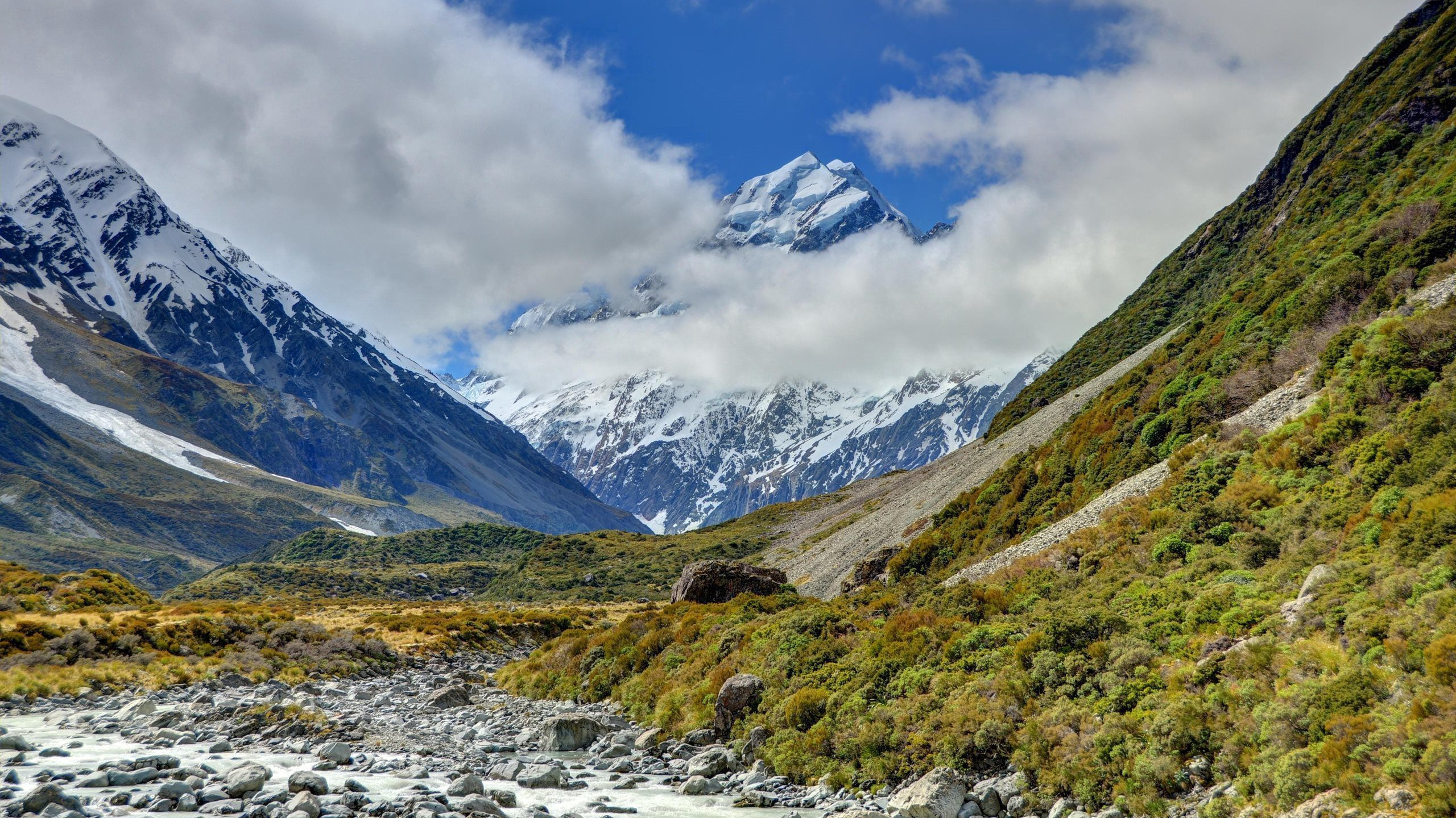 114042 Screensavers and Wallpapers New Zealand for phone. Download Nature, New Zealand, Aoraki, Mount Cook National Park pictures for free