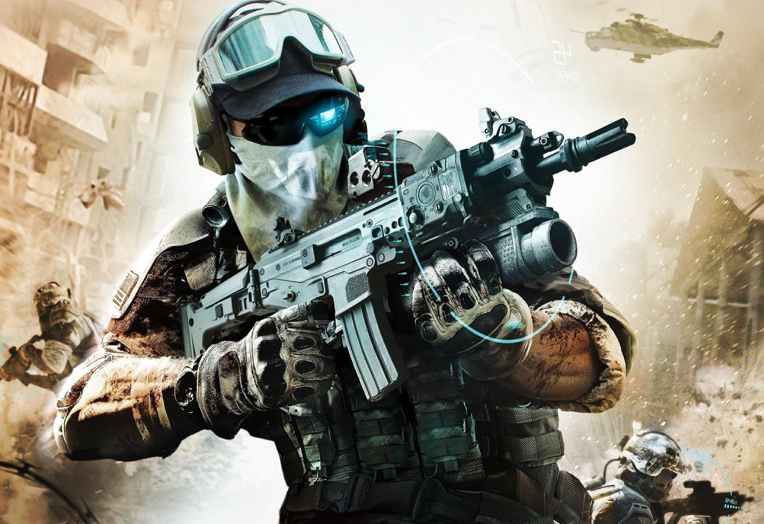 26310 Hintergrundbild herunterladen Waffe, Spiele, Soldiers - Bildschirmschoner und Bilder kostenlos