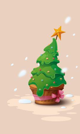 117904 скачать обои Праздники, Елочка, Новый Год, Рождество, Вектор - заставки и картинки бесплатно