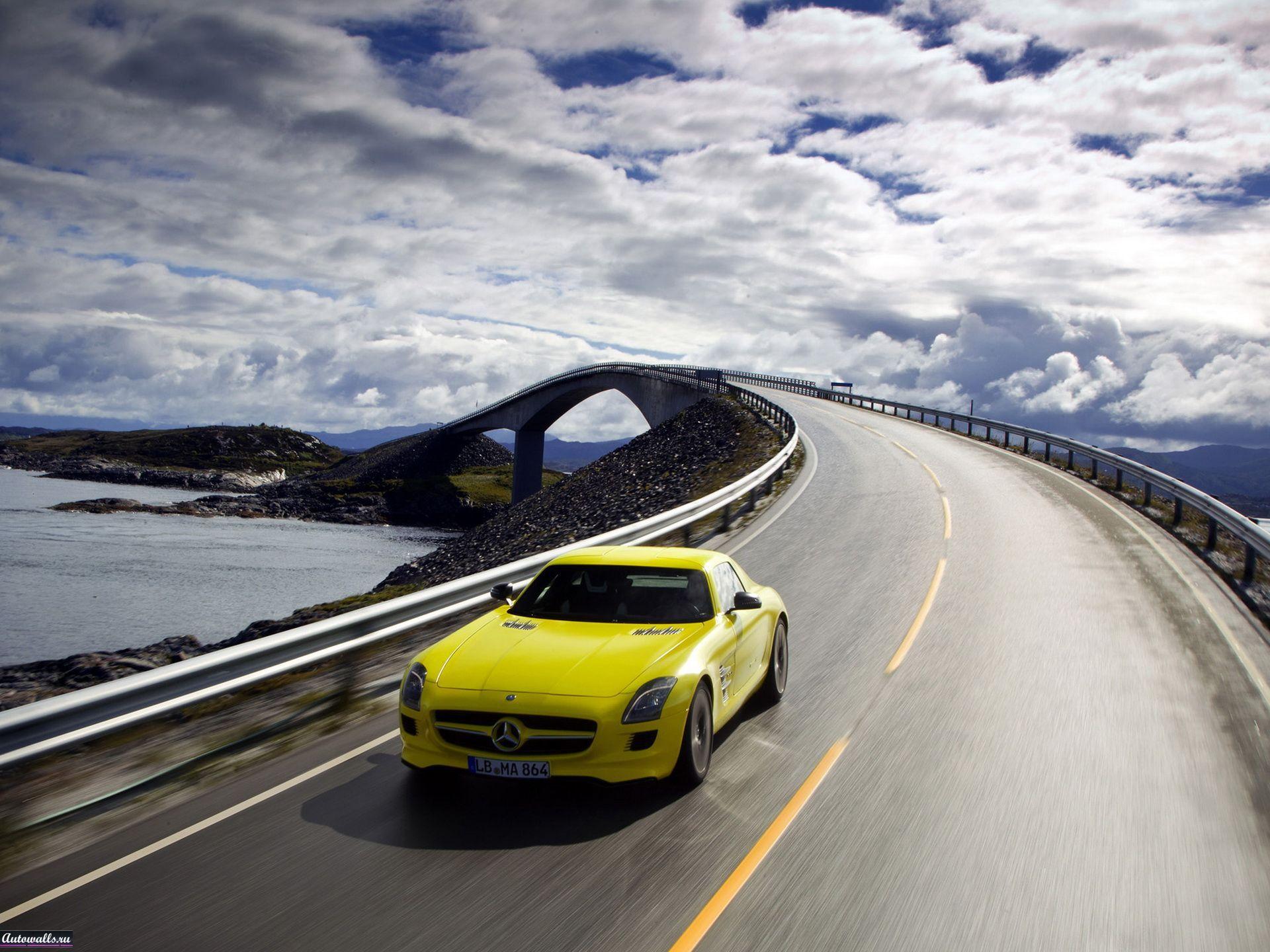 10506 скачать обои Транспорт, Машины, Мосты, Дороги, Мерседес (Mercedes) - заставки и картинки бесплатно
