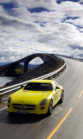 10506 descargar fondo de pantalla Transporte, Automóvil, Puentes, Carreteras, Mercedes: protectores de pantalla e imágenes gratis