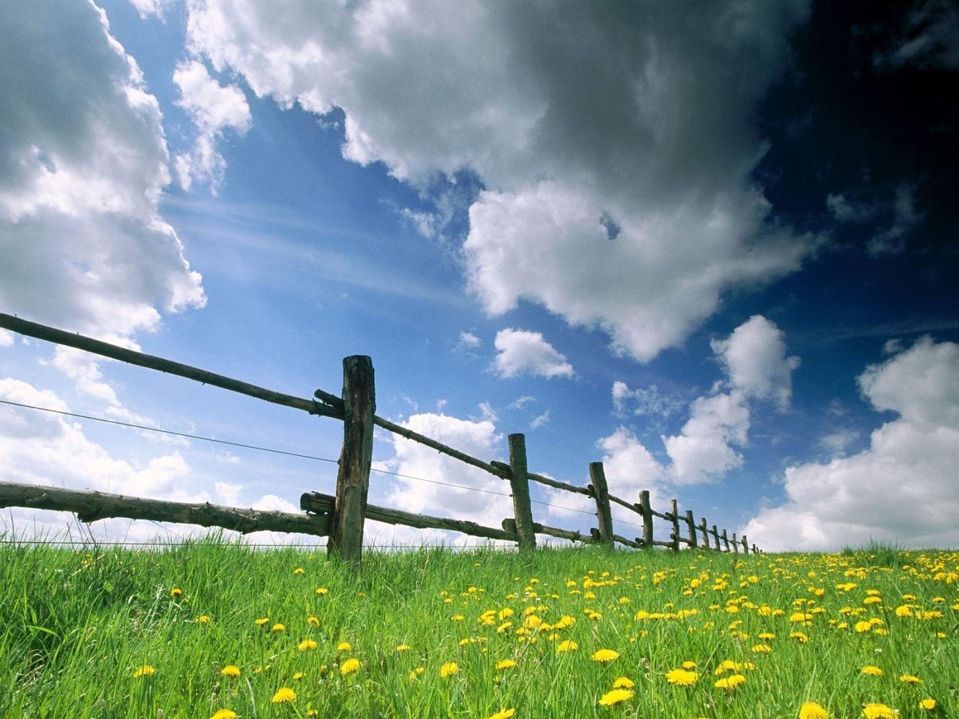 39630 скачать обои Пейзаж, Поля, Облака - заставки и картинки бесплатно
