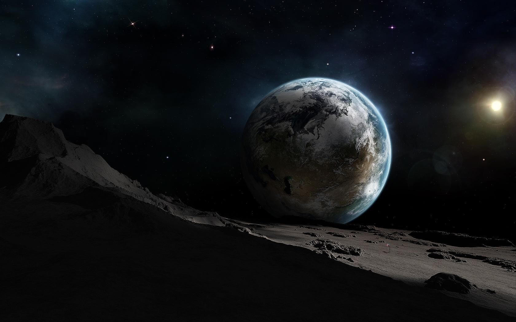 8515 завантажити шпалери Пейзаж, Планети, Космос - заставки і картинки безкоштовно
