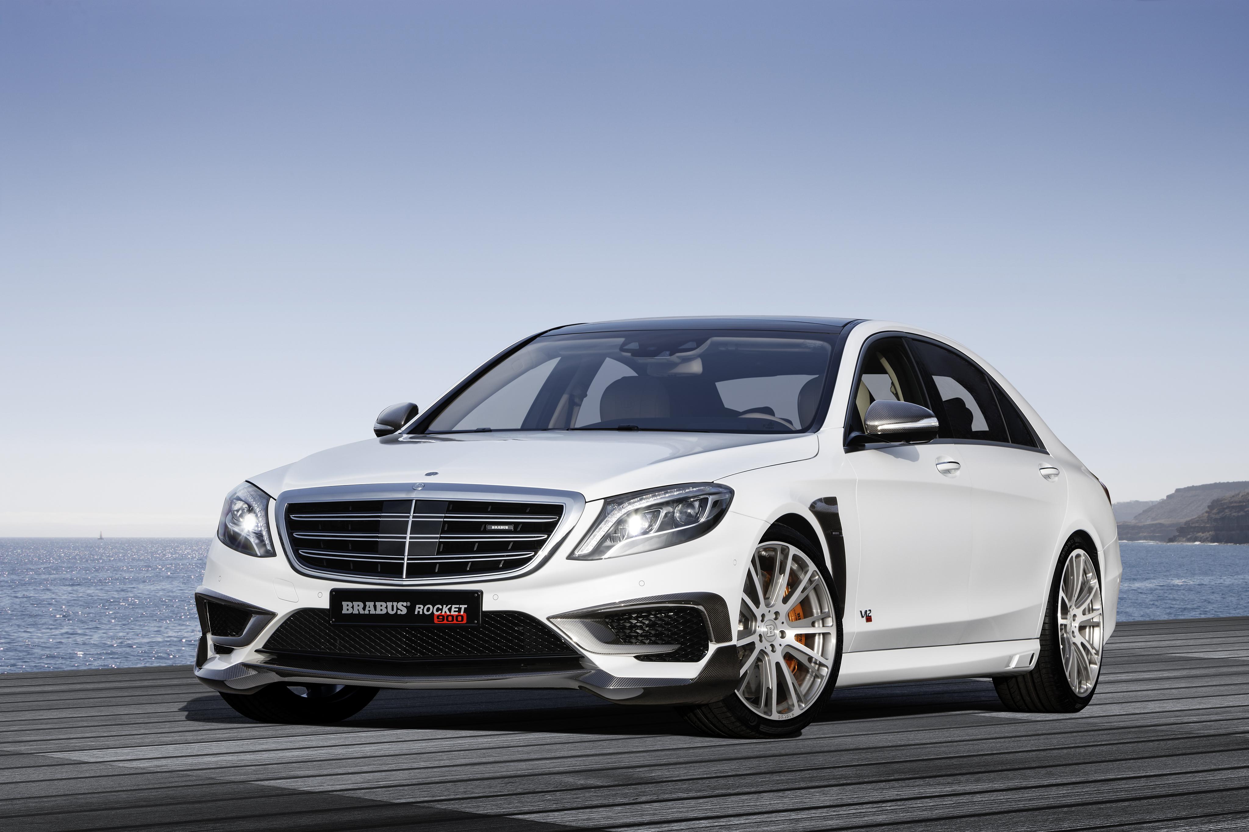 72974 Hintergrundbild herunterladen Mercedes, Cars, Vorderansicht, Frontansicht, 2015, Brabus, Rakete 900, W222 - Bildschirmschoner und Bilder kostenlos