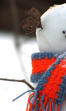 24752 скачать обои Пейзаж, Зима, Снег, Снеговики - заставки и картинки бесплатно