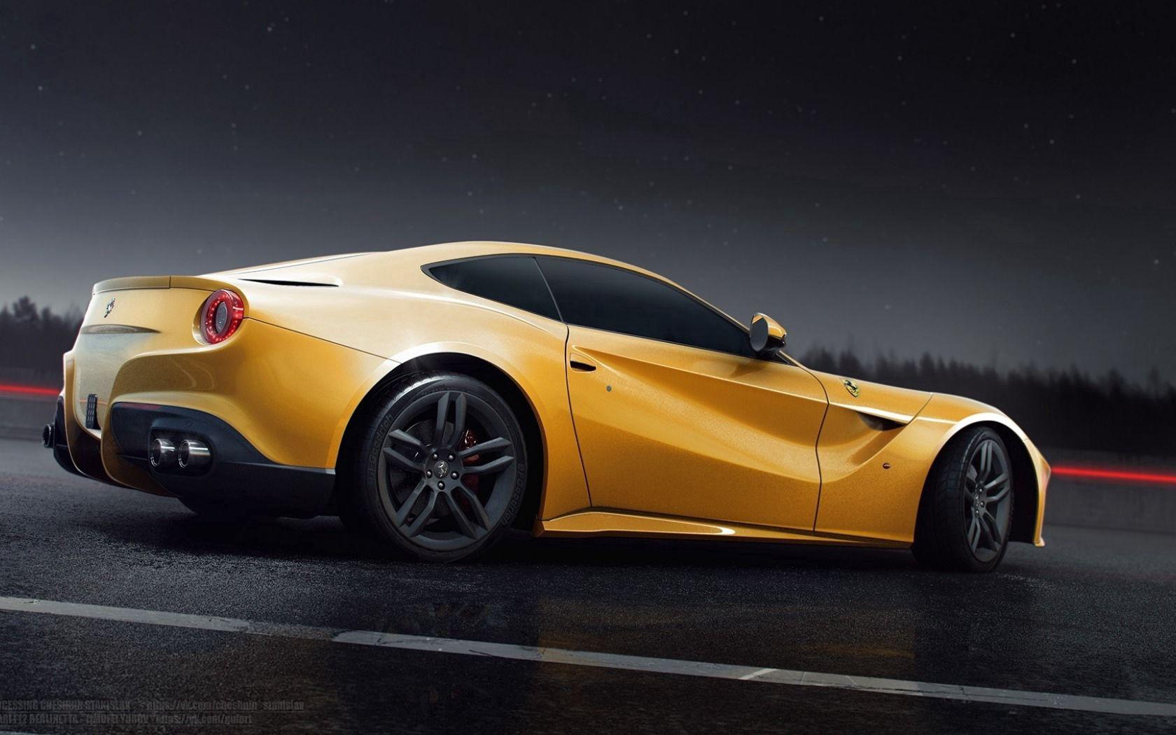 102130 Hintergrundbild 240x400 kostenlos auf deinem Handy, lade Bilder Ferrari, Cars, Seitenansicht, Berlinetta, F12 240x400 auf dein Handy herunter