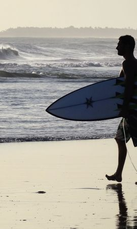 108630 descargar fondo de pantalla Deportes, Tablista, Surfista, Bali, Orilla, Banco: protectores de pantalla e imágenes gratis
