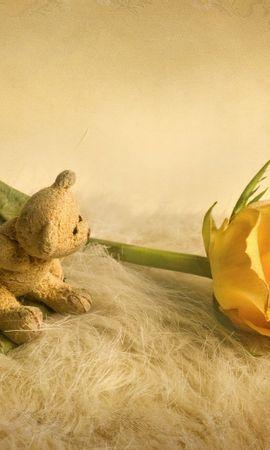 19416 baixar papel de parede Plantas, Flores, Rosas, Brinquedos, Natureza Morta - protetores de tela e imagens gratuitamente