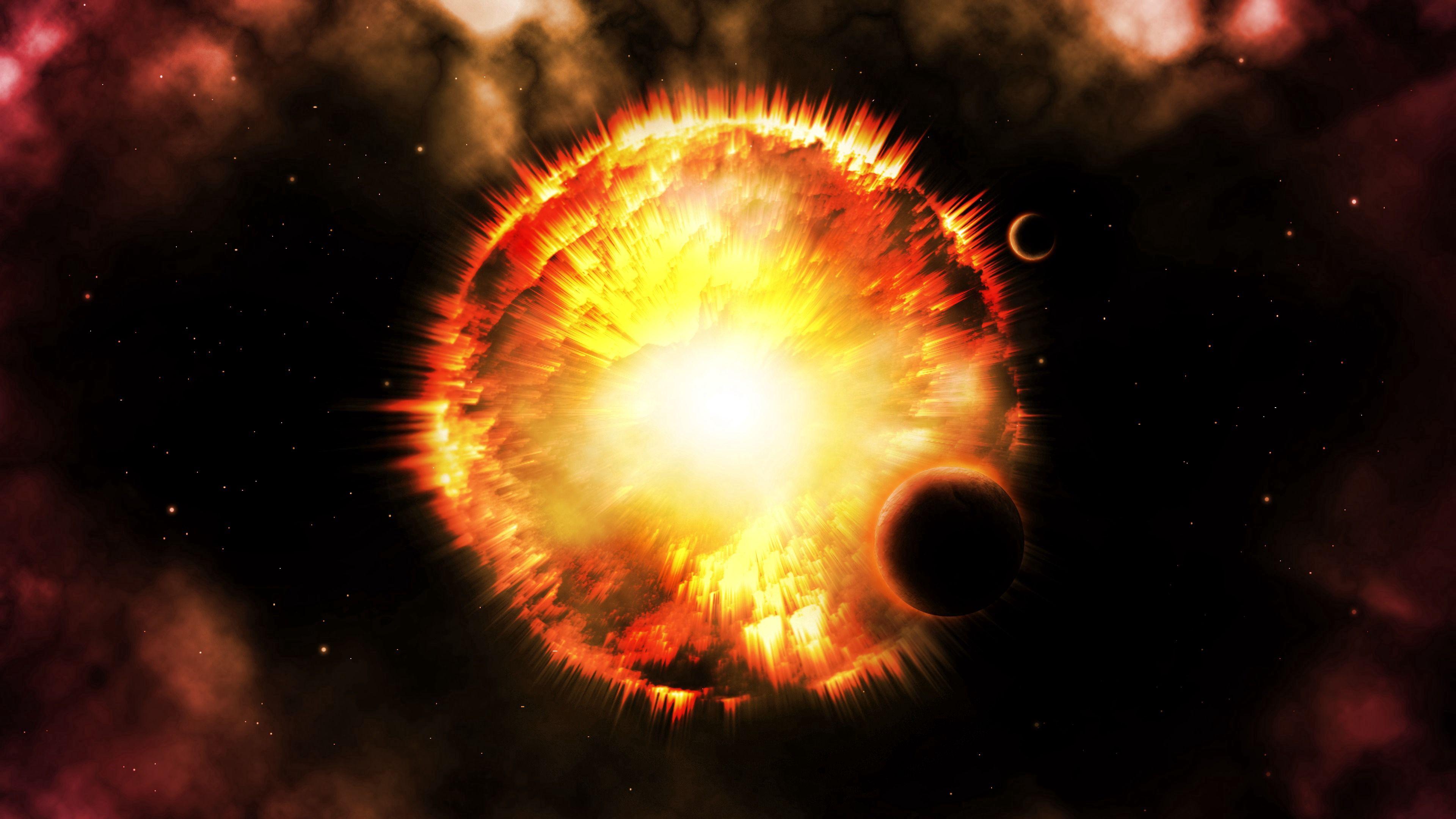 83948 免費下載壁紙 抽象, 闪光, 闪光灯, 明亮的, 明亮, 辉光, 发光, 星星, 星形, 宇宙, 行星 屏保和圖片