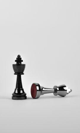 136058 скачать обои Минимализм, Король, Шахматные Фигуры, Шахматы - заставки и картинки бесплатно