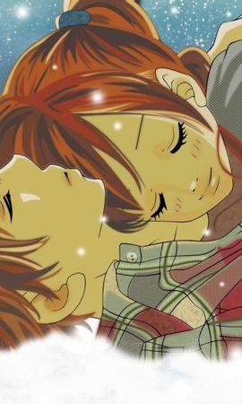 112972 télécharger le fond d'écran Anime, Bokura Ga Ita, Neige, Deux, Hiver - économiseurs d'écran et images gratuitement