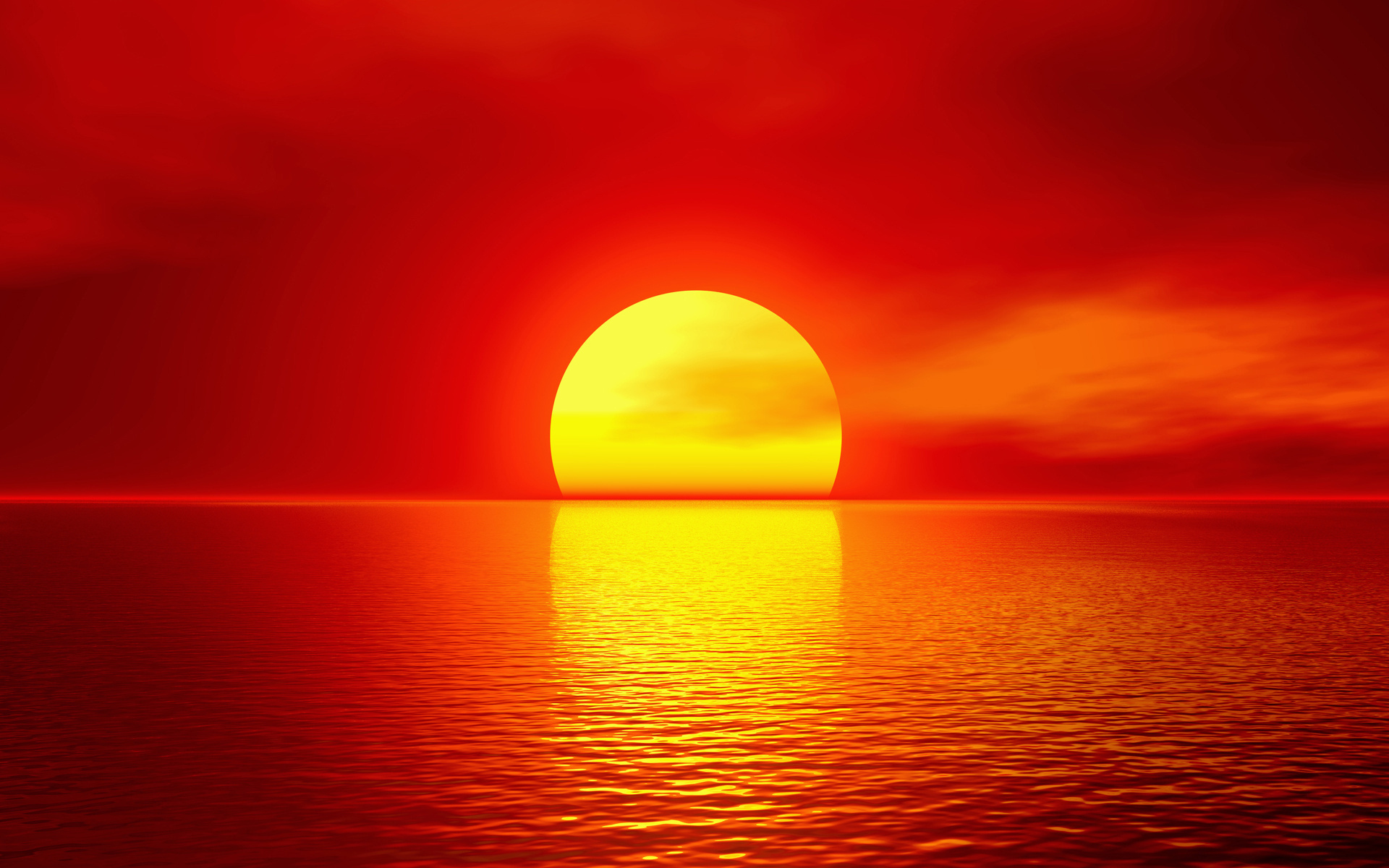 21928 download wallpaper Landscape, Sunset, Sea, Sun screensavers and pictures for free