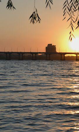 36917 скачать обои Пейзаж, Река, Мосты - заставки и картинки бесплатно