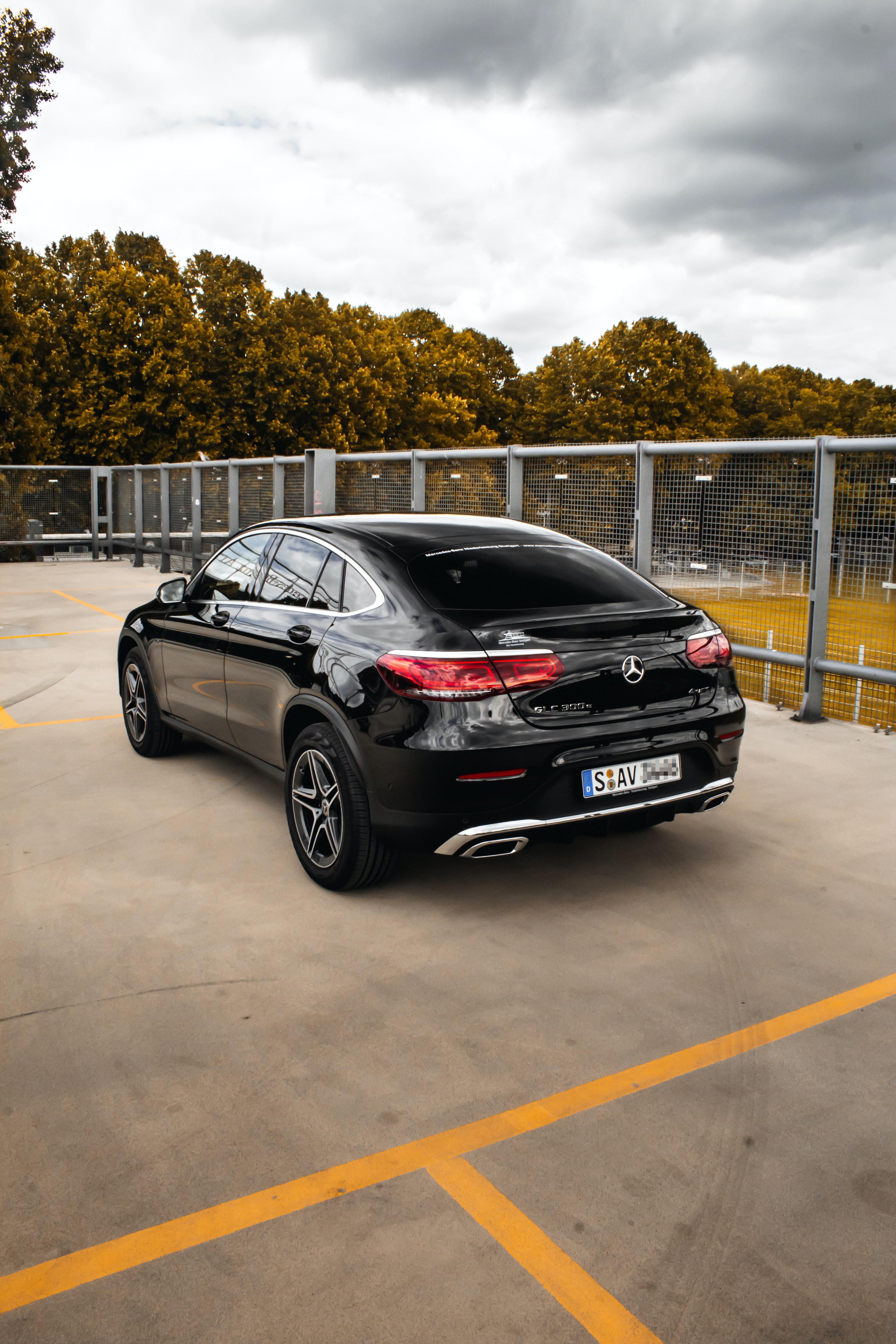 107767 Hintergrundbild herunterladen Auto, Mercedes, Cars, Wagen, Das Schwarze, Mercedes Glc 300 - Bildschirmschoner und Bilder kostenlos
