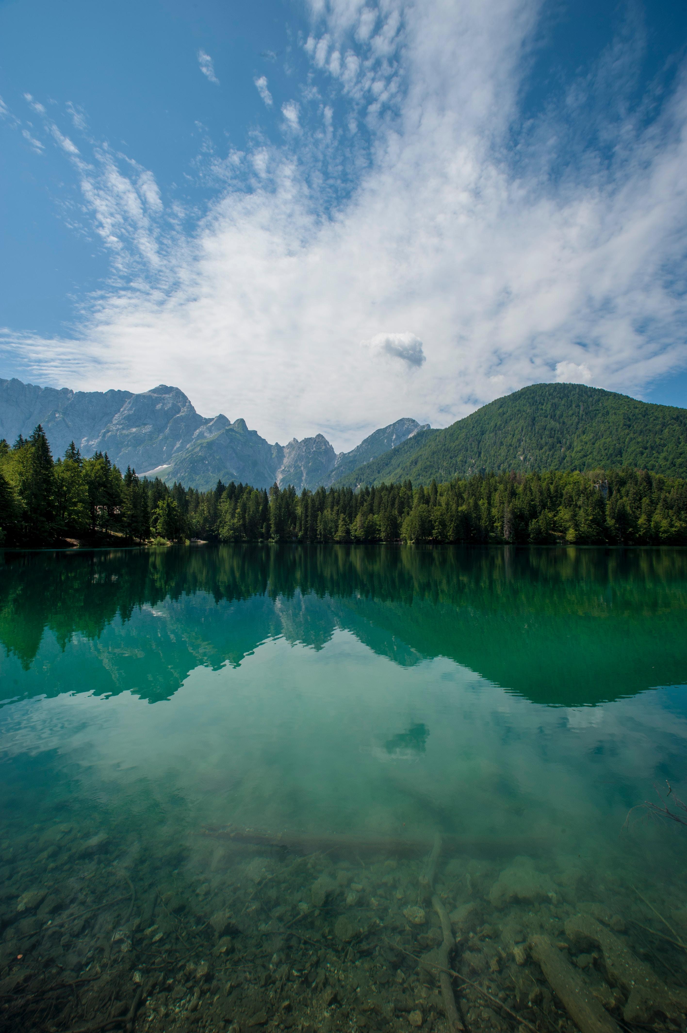 156684 fond d'écran 720x1280 sur votre téléphone gratuitement, téléchargez des images Paysage, Nature, Montagnes, Lac, Forêt 720x1280 sur votre mobile